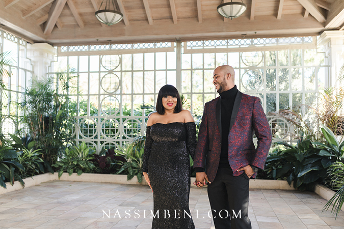 engagement photos at the society of four arts in palm beach - nassimbeni photo & films