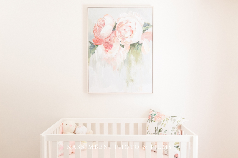 peony nursery decor inspiration