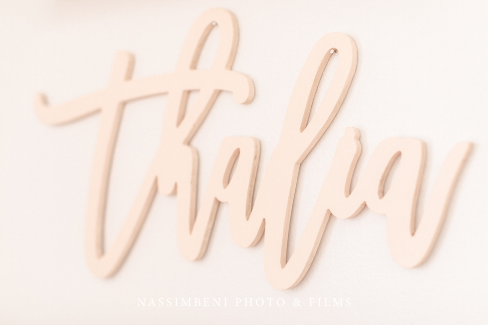 Custom Calligraphy Name Sign - My Custom Timber